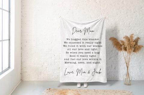 Personalised Fleece Blankets - Mother's Day