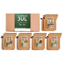 Load image into Gallery viewer, GLÆDELIG JUL 10 | 10 PCS. COFFEEBREWER BOX
