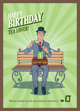 Load image into Gallery viewer, Tea Card Happy Birthday #4. 2 Brewers (4-8 cups)