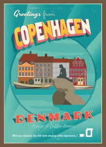 Coffee Card Denmark #5. 2 Brewers (4 cups)