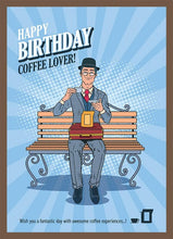 Load image into Gallery viewer, HAPPY BIRTHDAY BARISTA