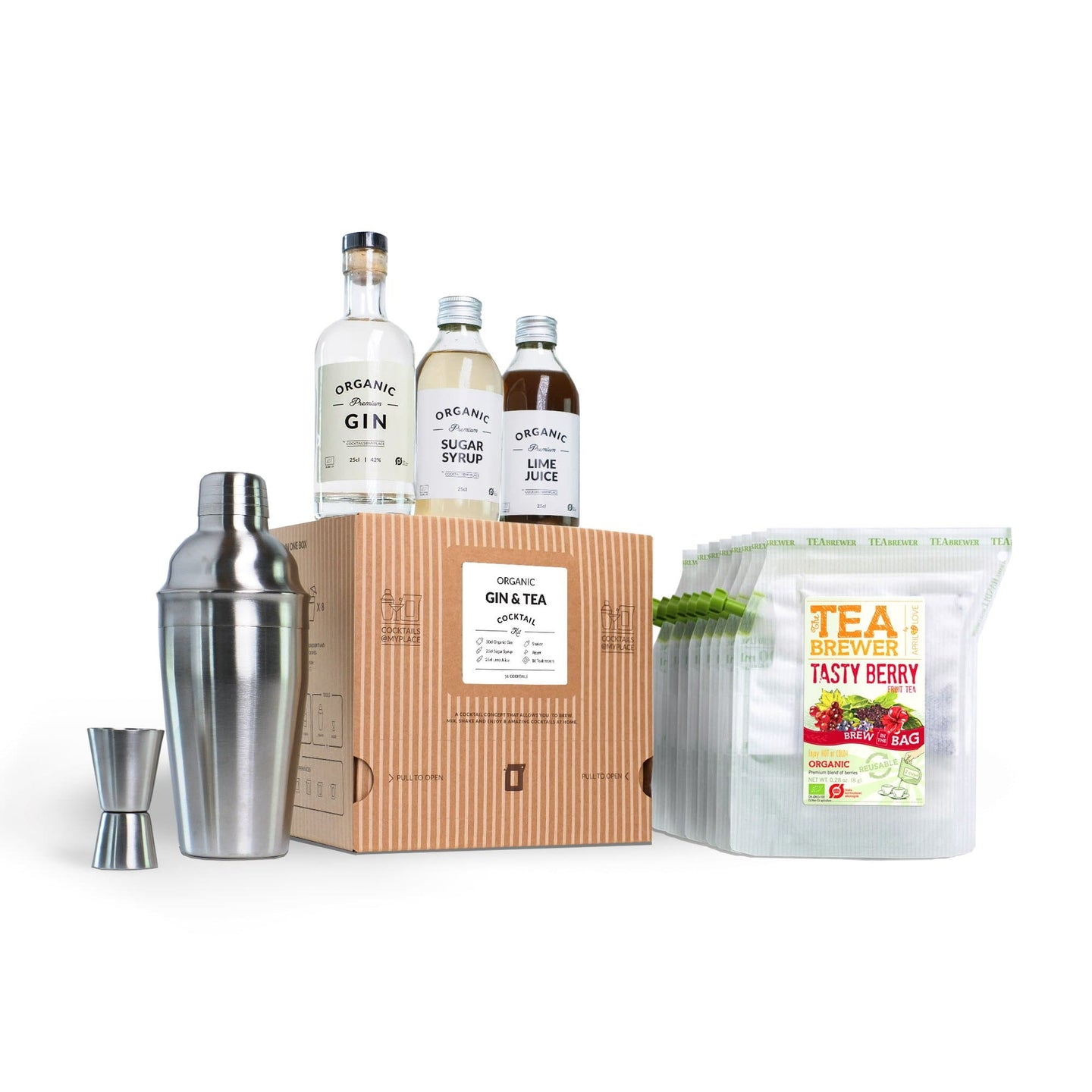 GIN & TEA Organic Cocktail Kit