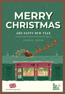 Merry Christmas Coffee Lover Pub