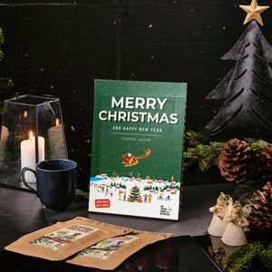 Merry Christmas Coffee Lover Village