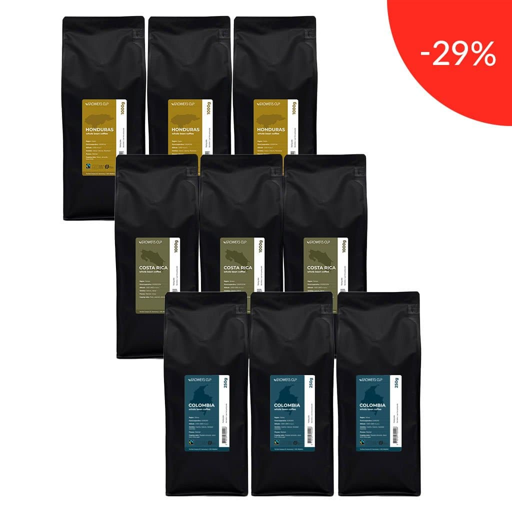 Helbønner Favorites Pack 9 x 1 kg
