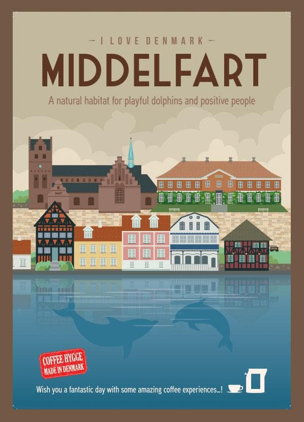Coffee Card Middelfart #1. 2 Brewers (4 kopper)