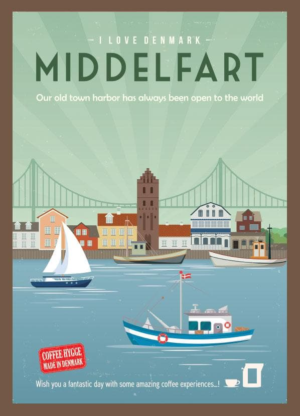 Coffee Card Middelfart #4. 2 Brewers (4 kopper)