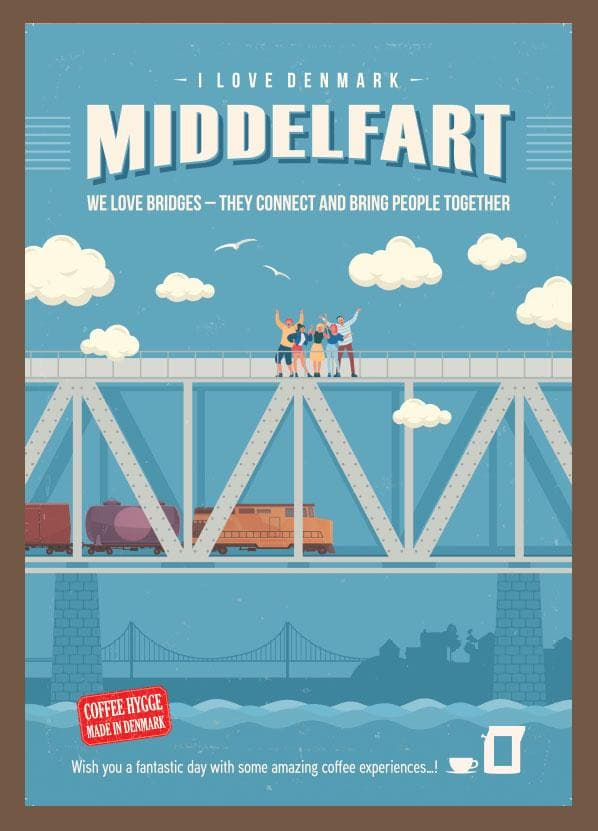 MIDDELFART THE CITY OF BRIDGES