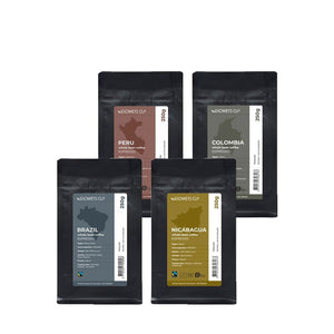 WHOLE BEANS Taster Pack Espresso (4 x 250g)
