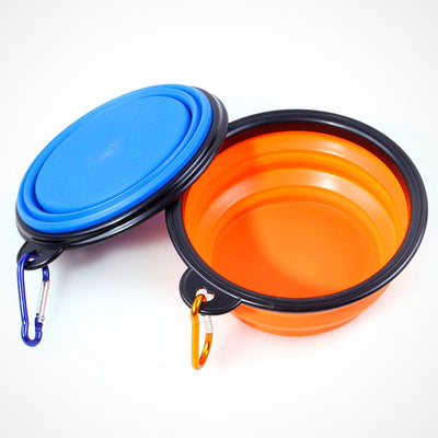 Collapsible Silicone Pet Bowl - 1000 ml