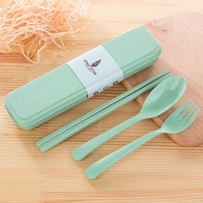 Cutlery Set Cute Portable Travel - Travel