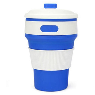 Collapsible Portable Silicone Drinking Cup