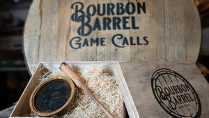Branded Bourbon Barrel Turkey Call