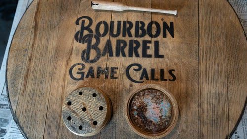 Moonshiners Bourbon Barrel Turkey Call