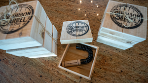 Engraved Bourbon Barrel Grunt Tube