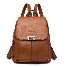 Load image into Gallery viewer, New 2 Style Women Leather Backpacks Female Vintage Backpack For Girls School Bag Travel Bagpack 2019 Ladies Sac A Dos Back Pack