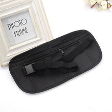 Load image into Gallery viewer, Thin Profile Money Belt Secure Travel Money Belt Undercover Hidden Blocking Travel Wallet Anti-Theft Passport Pouch Fanny Pack