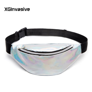 Waist Bags Women Designer Fanny Pack Fashion Belt Purse Banana Waist Packs Women's Belt Bag Kidney Laser Chest Phone Pouch