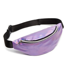 Load image into Gallery viewer, Waist Bags Women Designer Fanny Pack Fashion Belt Purse Banana Waist Packs Women's Belt Bag Kidney Laser Chest Phone Pouch