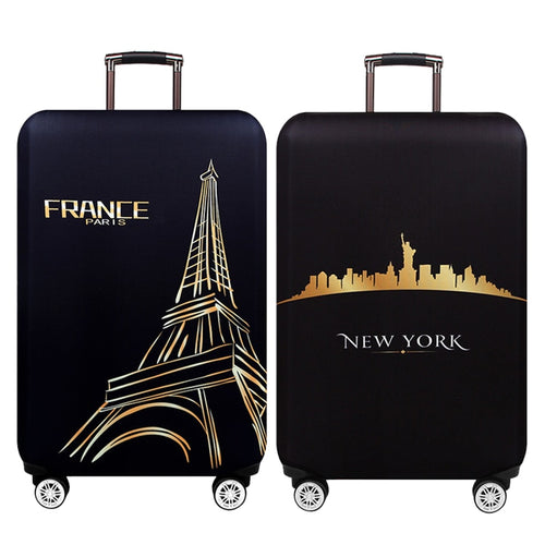 Travel Luggage Suitcase Protective Cover, Stretch,made for S / M / L / XL, Apply To 18-32 Inch Cases,Travel Accessorie