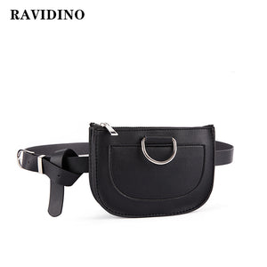 Serpentine Fanny Pack Women Waist Pack Pu Leather chest Bag Female Fashion Snake Skin Belt Bag High quality Purse