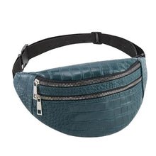 Load image into Gallery viewer, belt bag waist packs for women designer brand Luxury bag High Quality crocodile women PU leather bag Fanny Pack message bag