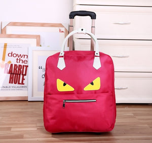 Waterproof High Oapacity Travel Bag Thick Style Rolling Suitcase Trolley Luggage Lady Men Trip Bags Suitcase With Wheels Suplies