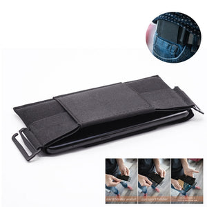 Minimalist Invisible Wallet Waist Bag Mini Pouch for Key Card Phone Sports Outdoor Best Sale-WT