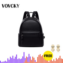 Load image into Gallery viewer, Soft Real Leather Backpack Women Black Small Back Packs For Girls School Backpack For Teenagers Genuine Leather Mochila Feminina