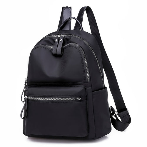 Women Backpack Casual Rucksack Oxford School Shoulder Bag Waterproof Backpacks for Teenage Girls Black Student Back pack Mochila