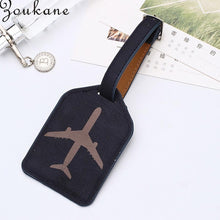 Load image into Gallery viewer, Zoukane Leather Suitcase Luggage Tag Label Bag Pendant Handbag Portable Travel Accessories Name ID Address Tags LT02