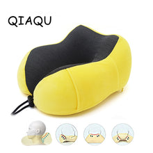 Load image into Gallery viewer, U Shaped Rebound Memory Foam Pillow Travel accessories Neck Pillows Health Care Headrest for Office Packaging Flight Car storage