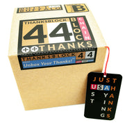 Thankswear 2.0 and THANKSBLOCK 44 featuring Justhanks