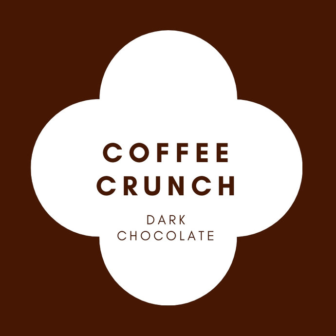 Coffee Crunch | French Dark Chocolate | 70% Cacao | 80g