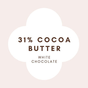 Bulk | French White Chocolate | 31% cocoa butter | 500g