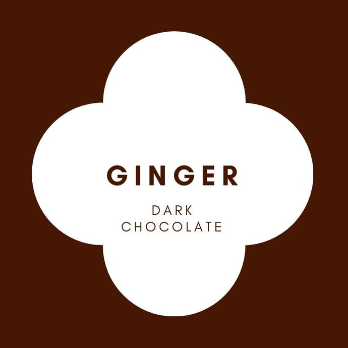 Ginger | French Dark Chocolate | 70% Cacao | 80g