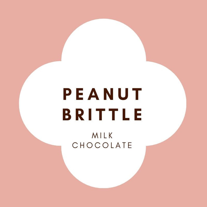Peanut Brittle | French Milk Chocolate | 42% Cacao | 80g