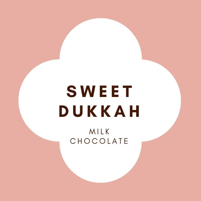 Sweet Dukkah | French Milk Chocolate | 42% Cacao | 80g