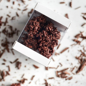 Crackle Clusters | Dark Chocolate | 62% cacao