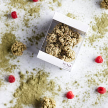 Load image into Gallery viewer, Crackle Clusters | Matcha Raspberry | White Chocolate