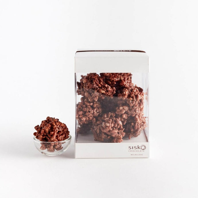 Crackle Clusters |  Milk Chocolate |  42% cacao