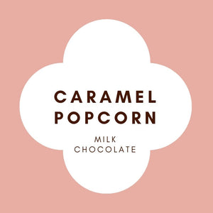 Caramel Popcorn | Raspberry | Milk Chocolate | 42% cacao