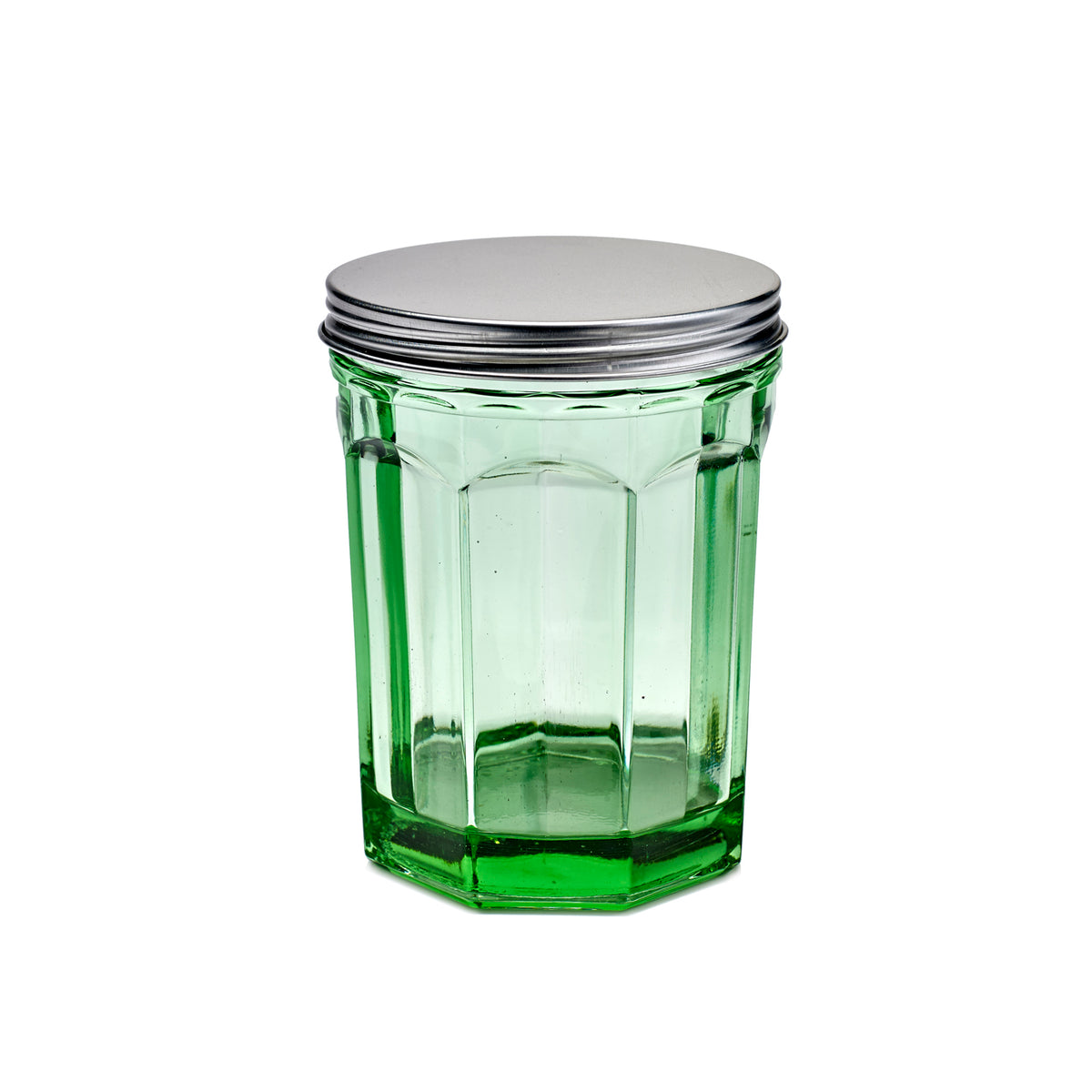 Large Storage Jar with Lid
