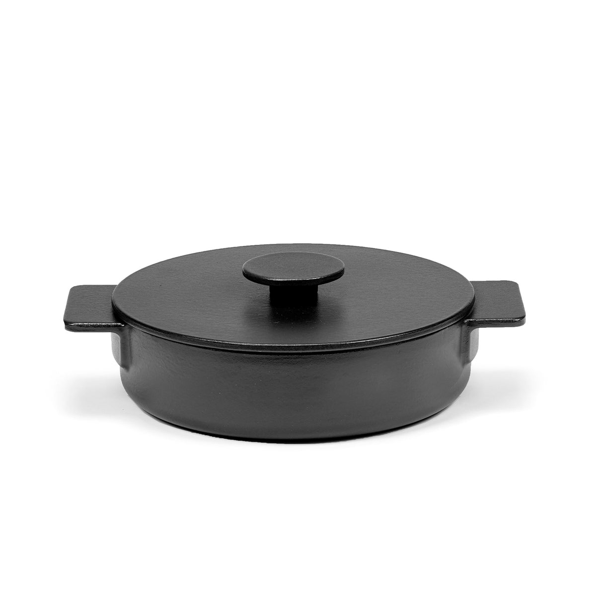 Cast Iron Shallow Pot 1.7L