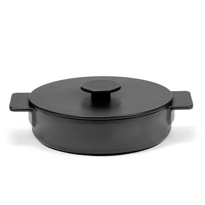 Cast Iron Shallow Pot 2.6L