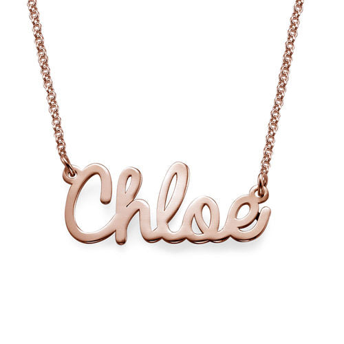 Collier Personnalisable Cursif