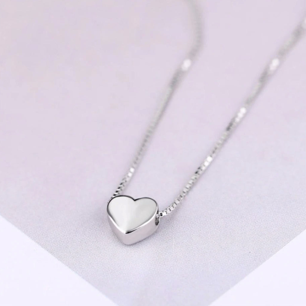 Collier Coeur Love Serling Silver
