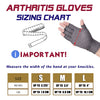 Compression Arthritis Gloves Wrist Support Cotton Joint Pain Relief PAIR