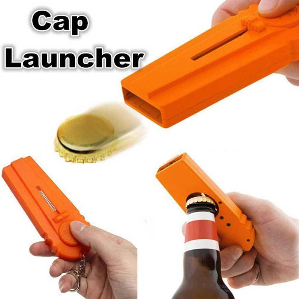High Quality Portable Drink Bottle Opener Flying Cup Launcher - FREE SHIPPING