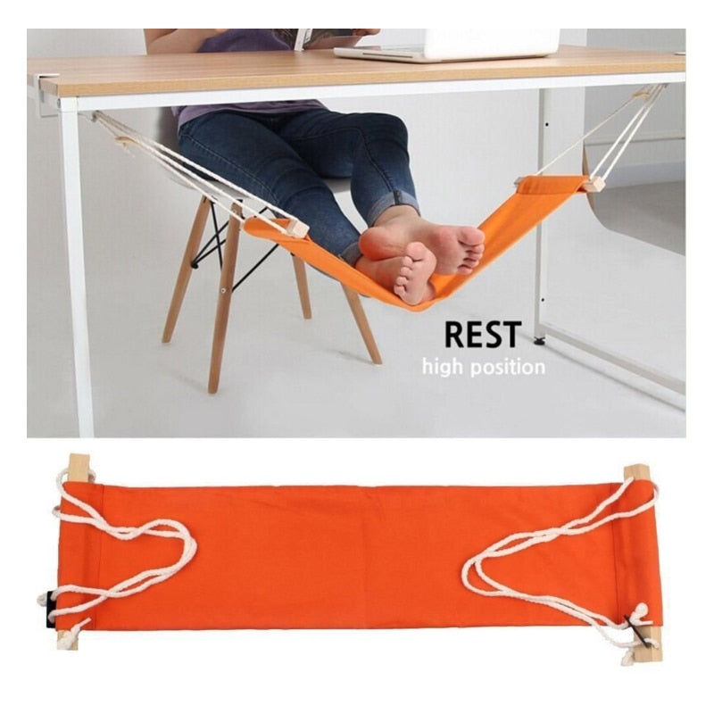 Desk Feet Hammock That Improves Posture And Helps You Relax
